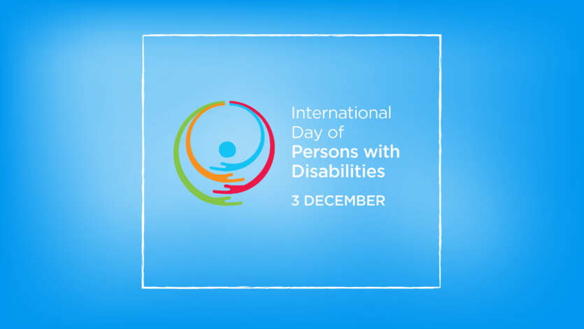 December 3 – International Day of Persons with Disabilities